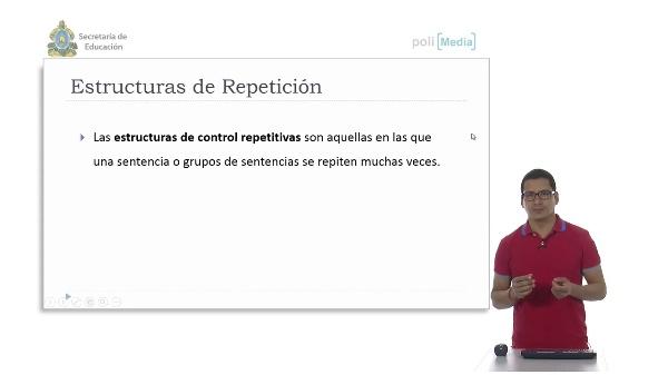 Estructura de Repetición While. Ejemplo
