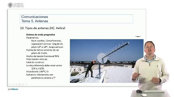 Introducción a las radiocomunicaciones. Antena Hellical