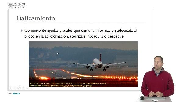 Ingeniería aeroportuaria. Luces y balizas aeronáuticas