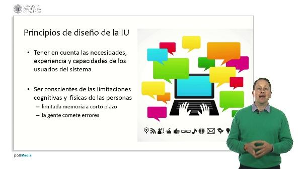 Proceso de datos e interfaz de usuario. Diseño de interfaces de usuario