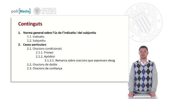 C2 El subj.: or. condicionals, de dubte i de confiança