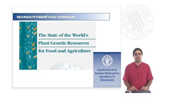 Estado de los recursos fitogenéticos para la alimentación y la agricultura