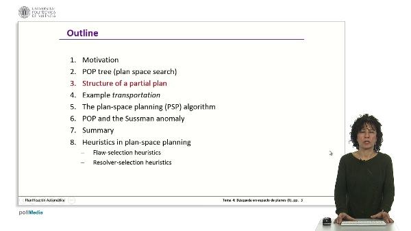Búsqueda en espacios de planes II
