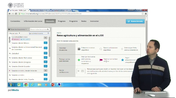 Manejar la herramienta de foro de edX.org