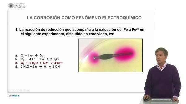 La corrosión como fenómeno electroquímico. Ejercicios prácticos (soluciones)
