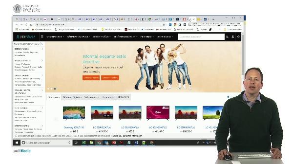 Buscar en Internet. Compra colectiva. Comparadores de precios