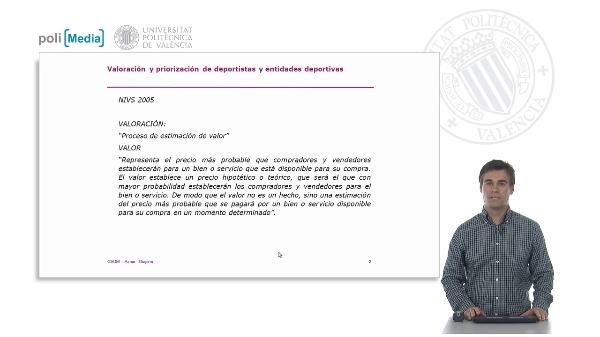 La valoración en el mundo y en España