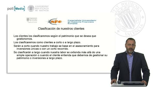 AFE: Clasificación de nuestros clientes