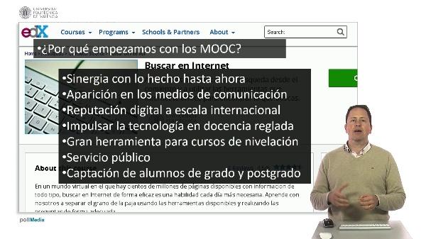 SPOC Gestión de MOOC. ¿Por qué la UPV hace MOOC?