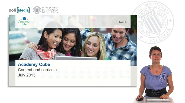 Academy Cube. Content and curricula