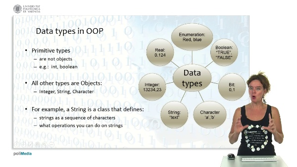 Objects and data structures: Data Types