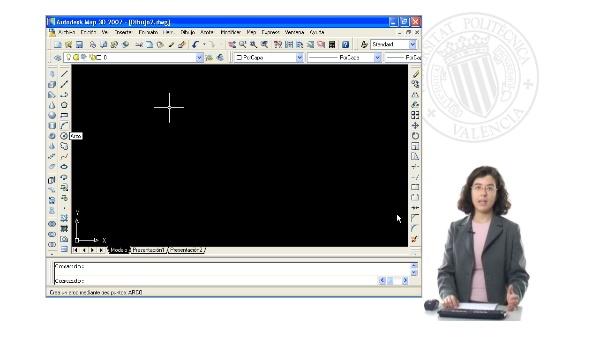 Introducción de coordenadas en comandos de AutoCAD