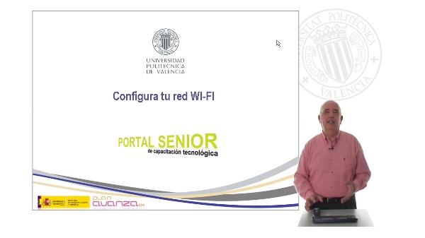 Configura tu red Wi-FI