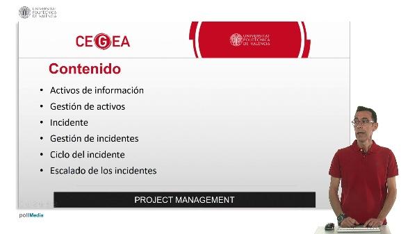 Activos e incidentes