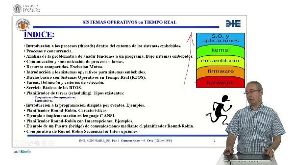 Curso de ingeniería del software para sistemas embebidos. Modulo 14 parte 1. Sistema Operativo RTOS.