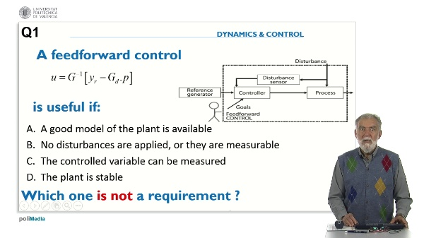 Control Systems Design. Answer 1