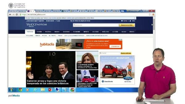 Buscar noticias en internet