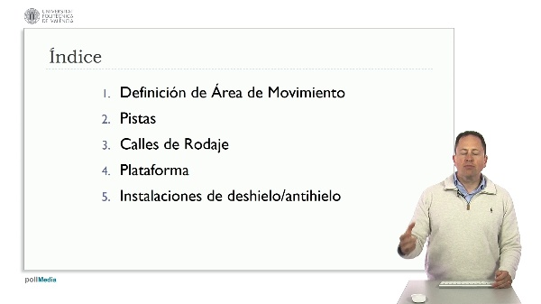 MOOC Diseño aeropuertos según OACI. Introducción módulo 2. Área de movimiento
