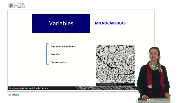 Variables. Microcápsulas.