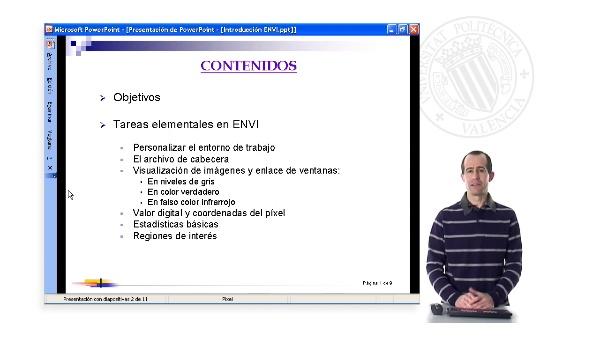 Introducción al Tratamiento Digital de Imágenes de Satélite con ENVI