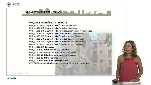 Proyecto de intervención en edificios construidos