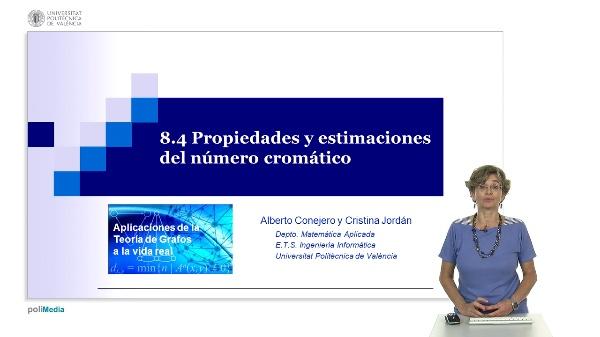 S8.3- Propiedades y estimaciones del número cromático