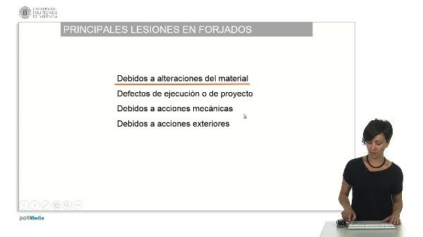 Lesiones de estructuras horizontales I