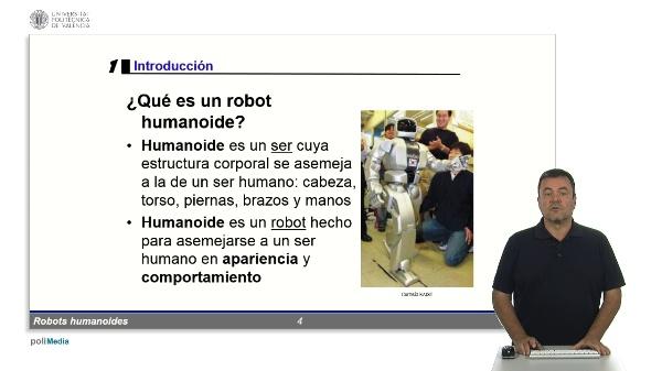 Robots humanoides: Introducción
