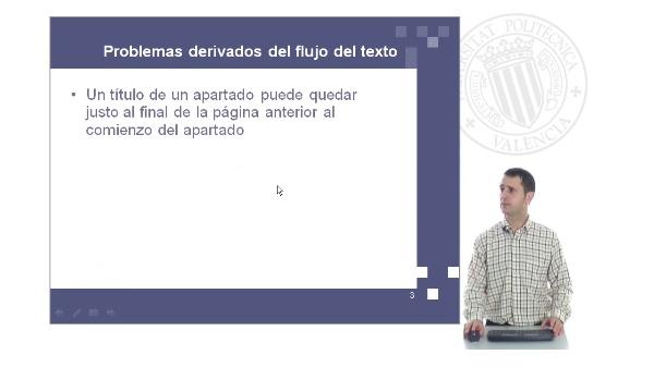 Procesamiento de textos con Open Office Writer: gestión del flujo de texto