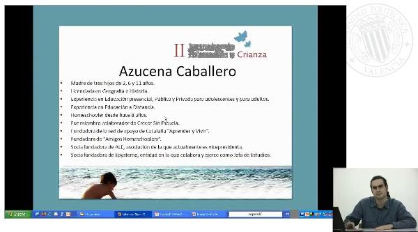 Presentacion conferencia sobre Homeschooling