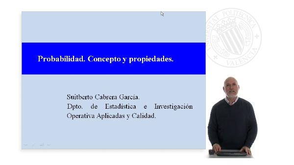 Probabilidad. Concepto y propiedades