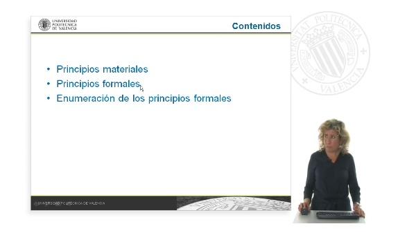 Principios materiales y principios formales