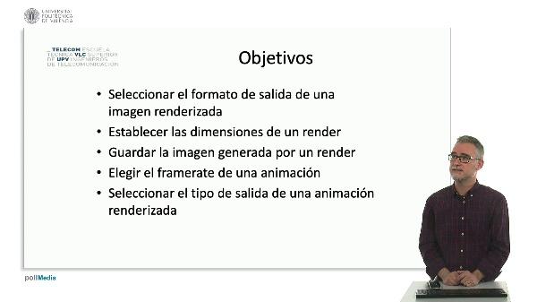 Blender: Render de imagen y animación.