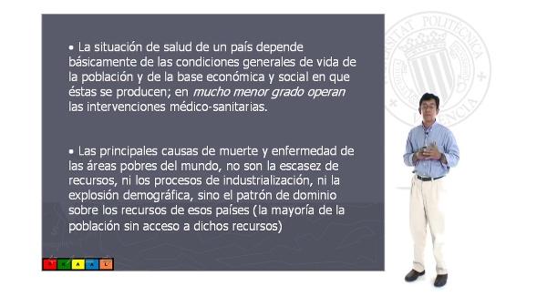 Concepto de salud y atención a la salud