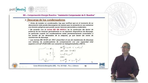 Conceptos teóricos de Energía Reactiva V