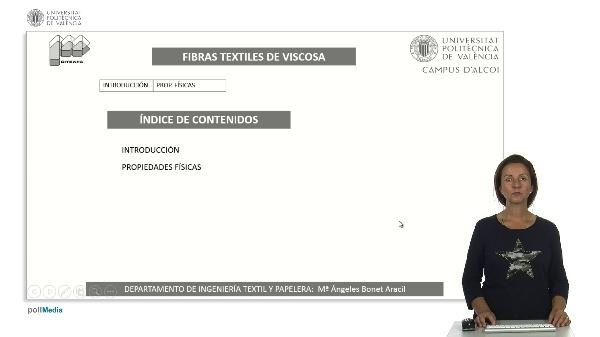 Fibra textil viscosa