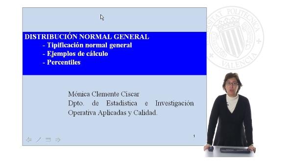Distribución Normal General