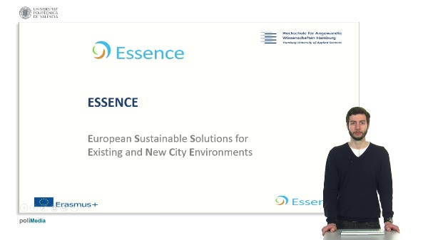 Essence. European Sustaniable Solutions for Existing and New City Environments. Presenter 3