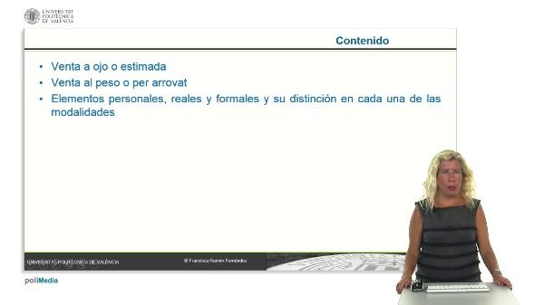 Las modalidades especiales del contrato de compraventa en Ley 3/2013, de 26 de julio, de los contratos y otras relaciones jurídicas agrarias.