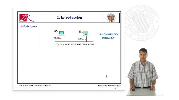 Transmisión IP Directa e Indirecta