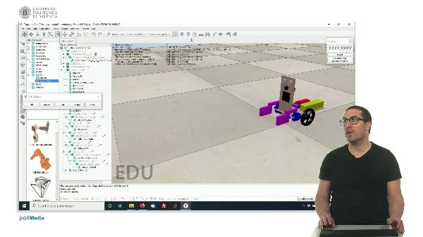 CoppeliaSim (V-REP): Creando robot DYOR (Paso 5).