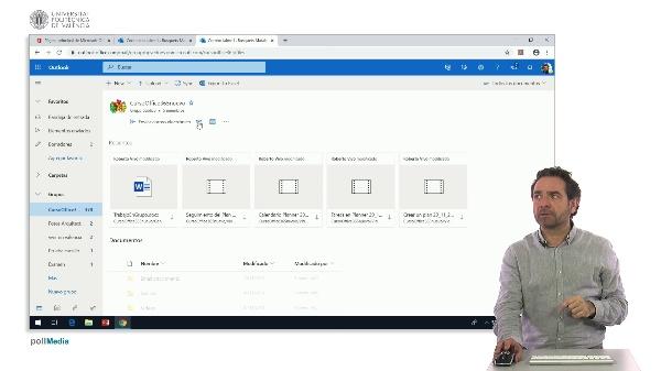 MOOC Office 365. Archivos de grupo