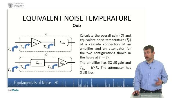 Caracteristicas fundamentales del ruido VI