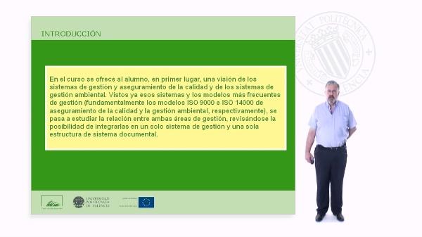 Sistemas integrados de calidad y medio ambiente