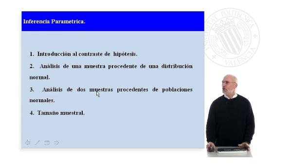Introducción a la inferencia paramétrica