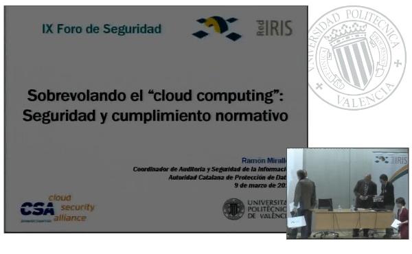 Sobrevolando el cloud computing. Seguridad y cumplimiento normativo