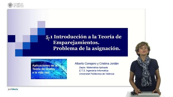 S5.1- Introducción a la Teoría de Emparejamientos. Problema de la asignación