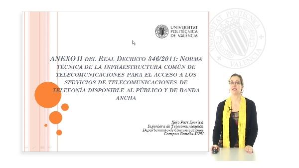 Presentación del Anexo II del Real Decreto 346/2011