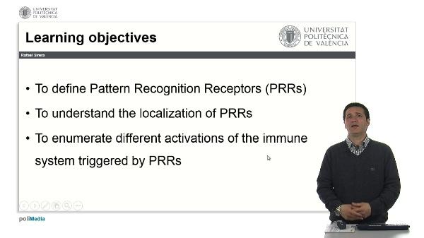 Receptores de patrones moleculares. Generalidades