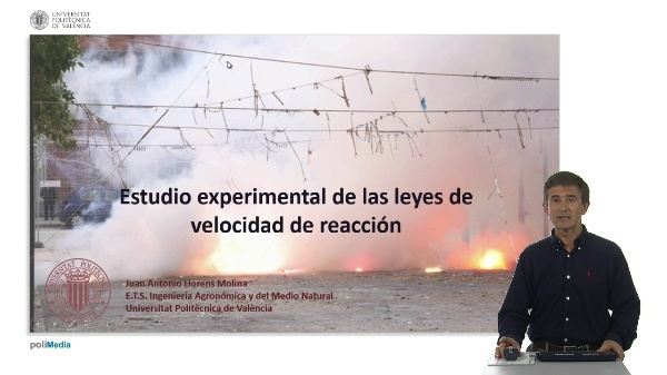Estudio experimental de las leyes de velocidad de reacción